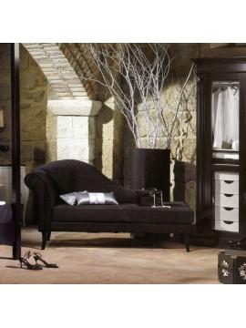 Chaise Longue Luxe Noire