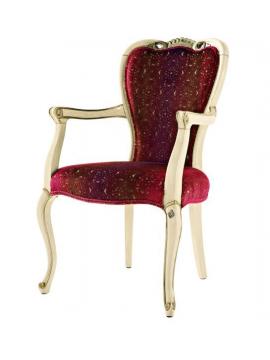 Chaise de luxe tissu bleu for Chaise rouge et bleue