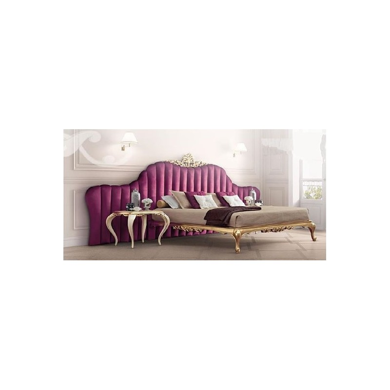lit et t te de lit de luxe rouge ou violet capitonn e 2 personnes milan. Black Bedroom Furniture Sets. Home Design Ideas