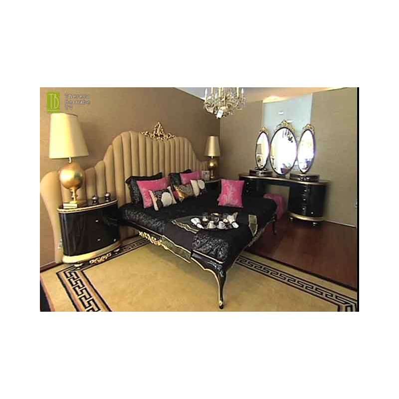 lit et t te de lit de luxe capitonn e 2 personnes milan. Black Bedroom Furniture Sets. Home Design Ideas
