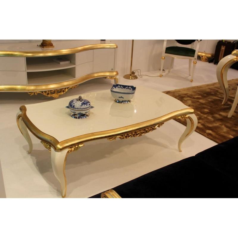 table basse de luxe carr e ou rectangulaire noire venize. Black Bedroom Furniture Sets. Home Design Ideas