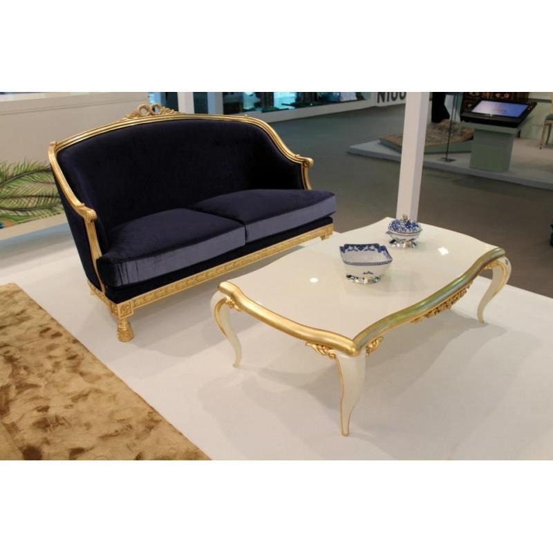 Table Basse De Luxe Carr E Ou Rectangulaire Noire Venize