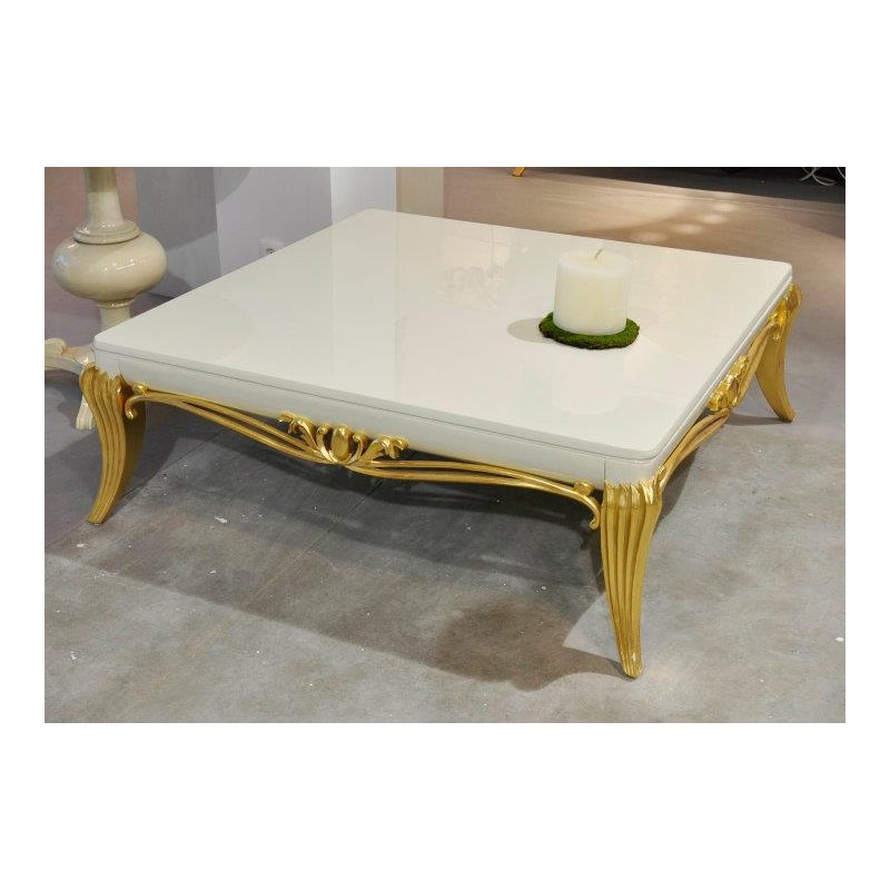 Table basse de luxe carr e venize 2 - Table basse luxe design ...
