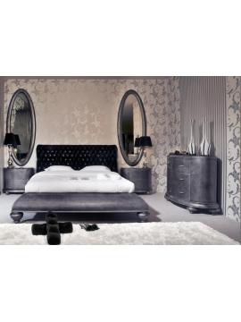 Chambre adulte grise Legnano Milan