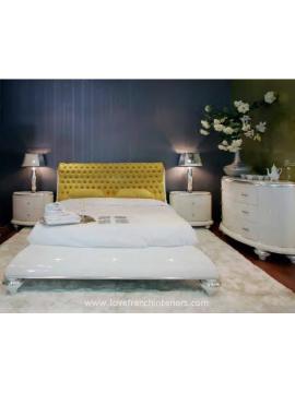 Chambre adulte jaune Legnano Milan