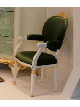 Chaise verte Venize