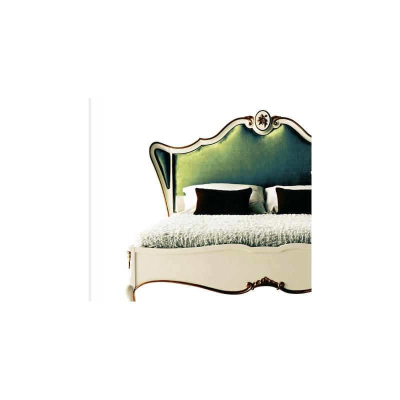 chambre adulte de luxe verte glamour 1 miroir sur pied