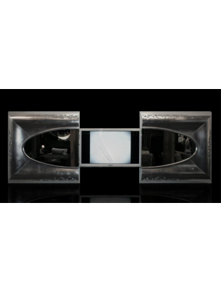 Miroir tv int gr e eiffel de luxe for Miroir tv samsung
