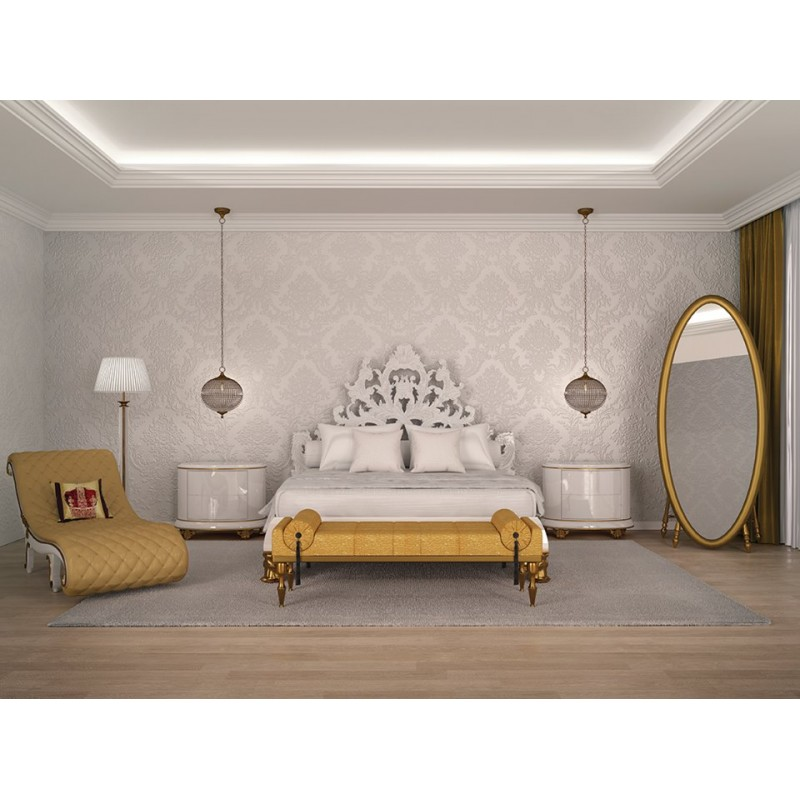 chambre baroque moderne gallery of delightful papier peint baroque noir with chambre baroque. Black Bedroom Furniture Sets. Home Design Ideas