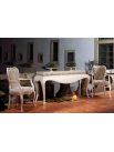 Console Luxe Argent et chaise luxe excellence
