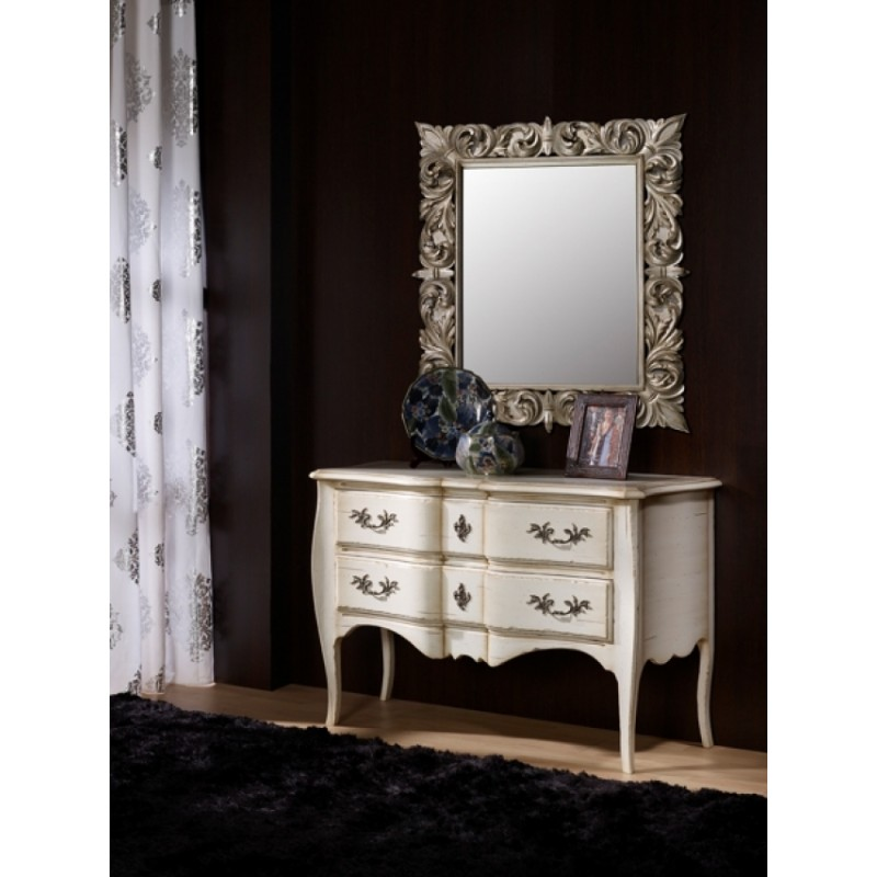 commode antiquaire 2 tiroirs addison. Black Bedroom Furniture Sets. Home Design Ideas