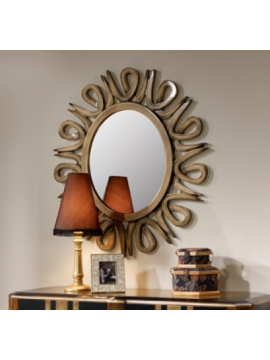 Miroir oval Andrews