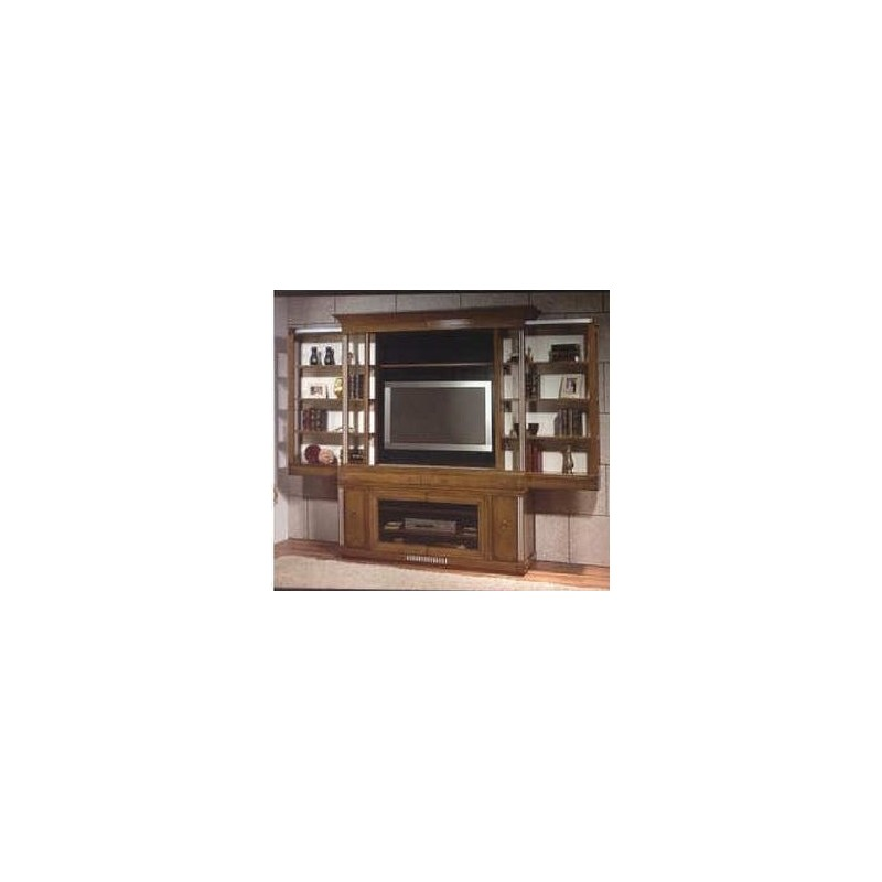 meuble antiquaire tv carlone 1 porte vitr e. Black Bedroom Furniture Sets. Home Design Ideas