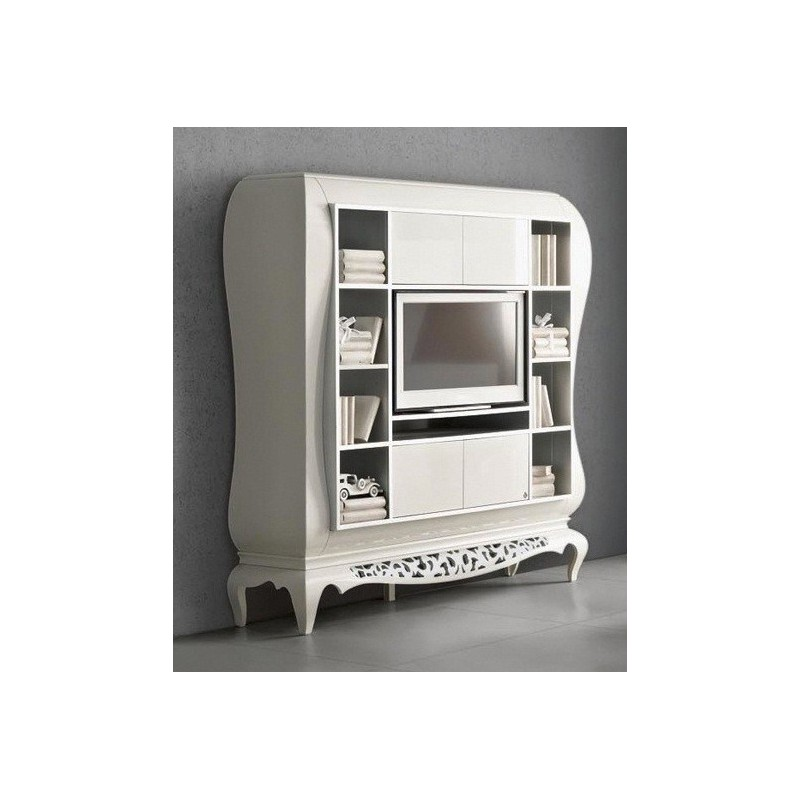meuble tv de luxe tag eiffel. Black Bedroom Furniture Sets. Home Design Ideas