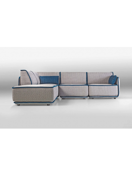 Canapé avec chaise longue Riviera