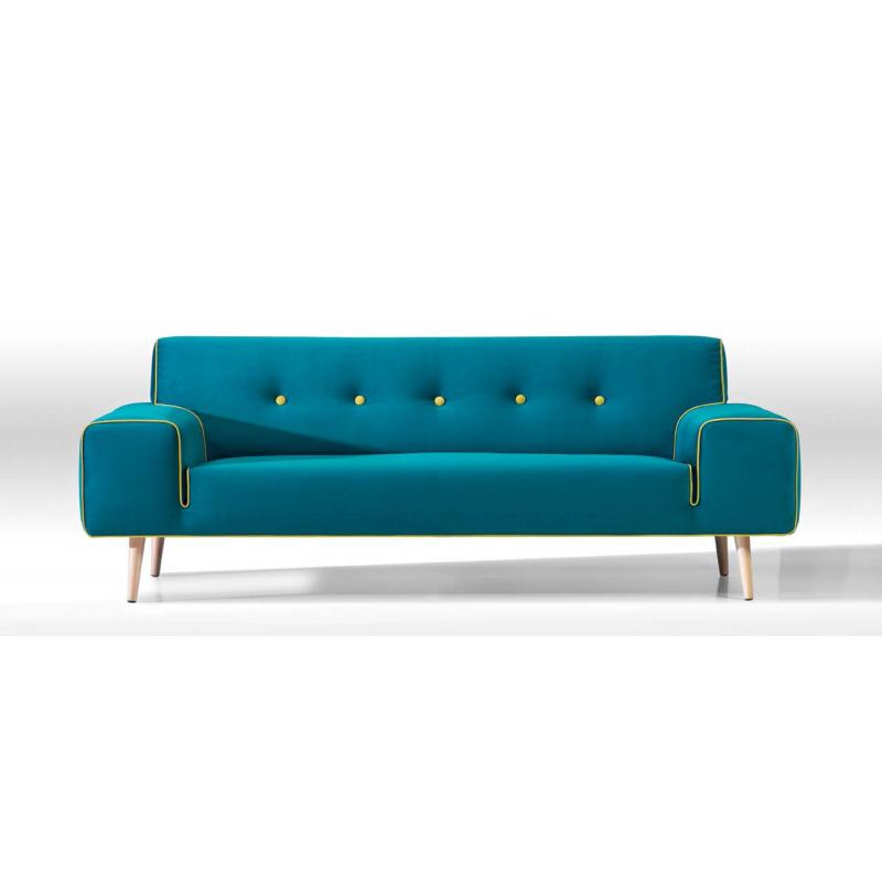 canape bleu vintage gascity for. Black Bedroom Furniture Sets. Home Design Ideas