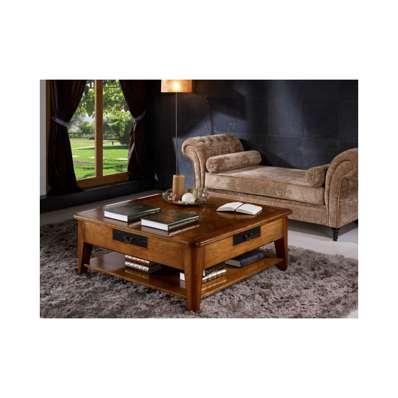 table basse tiroirs ashley. Black Bedroom Furniture Sets. Home Design Ideas