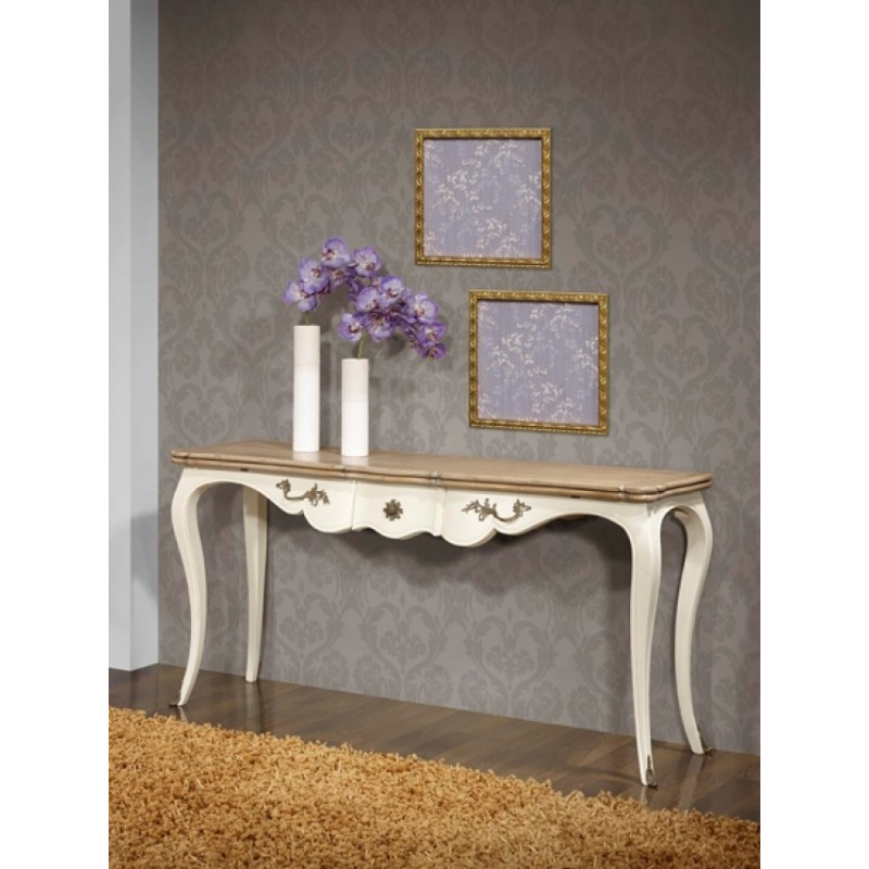 console table blanche axel. Black Bedroom Furniture Sets. Home Design Ideas