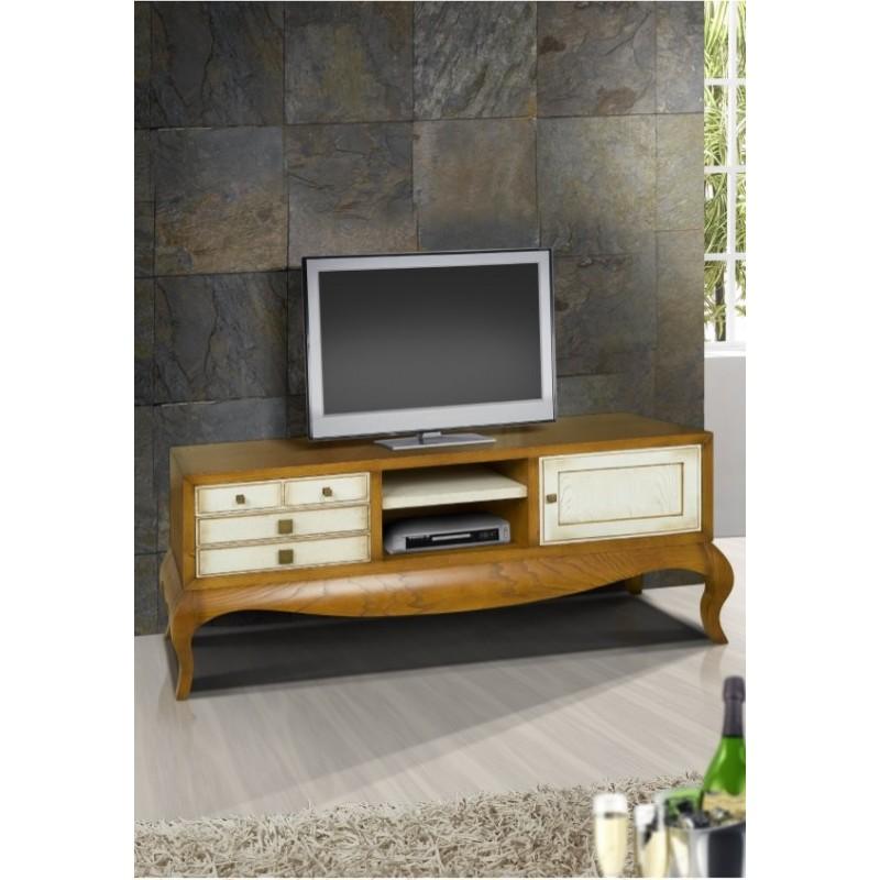meuble tv antiquaire 1 porte ruben siam. Black Bedroom Furniture Sets. Home Design Ideas