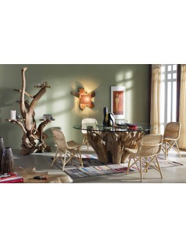 Table de repas et chaises Maurel