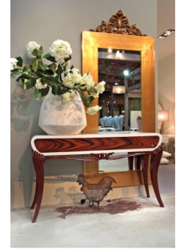 Console luxe noyer 1900