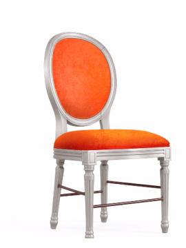 Chaise orange Glamour