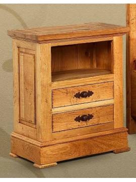 Chevet Chêne 2 tiroirs