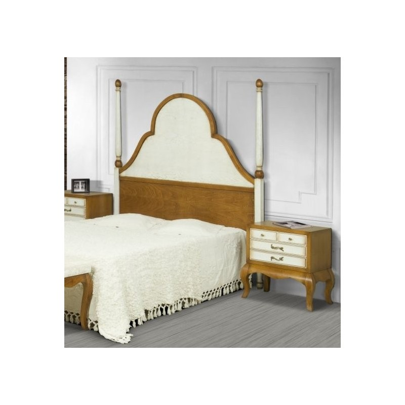 t te de lit antiquaire ch ne massif ruben siam meuble de. Black Bedroom Furniture Sets. Home Design Ideas