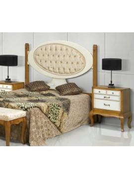 t te de lit antiquaire ch ne massif ruben siam meuble de chambre adulte. Black Bedroom Furniture Sets. Home Design Ideas