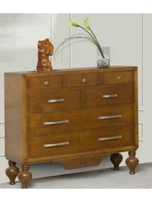 commode antiquaire 7 tiroirs victoria. Black Bedroom Furniture Sets. Home Design Ideas